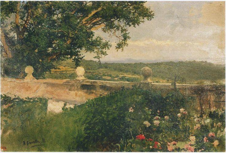 Valencia landscape, 1894 Joaquín Sorolla