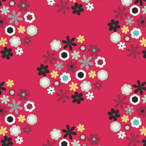 Wildflowers: Blaze: Nordika: Jeni Baker: Art Gallery Fabrics