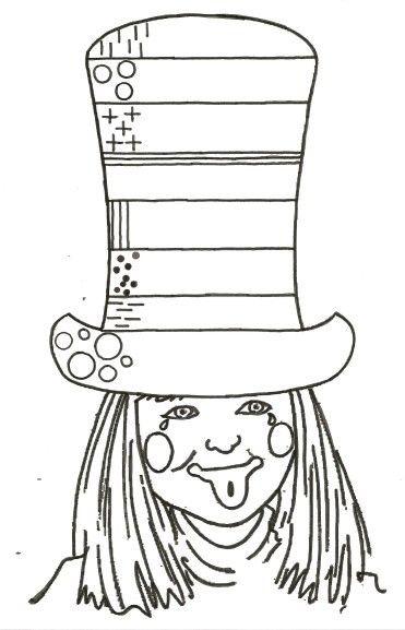 Gabarit - Graphisme - Le chapeau haut-de-forme