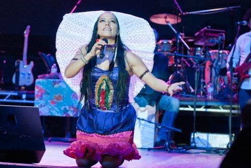 """Gira """"Pecados y Milagros 2012"""" Congress Theater 2135 N. Milwaukee Ave. Chicago, IL, 60647 congresschicago.com/ 3 de Marzo de 2012 """"A MAGICAL EVENING WITH LILA DOWNS - Sones de Mexico Ensemble - Pintoras Mexicanas."""""""