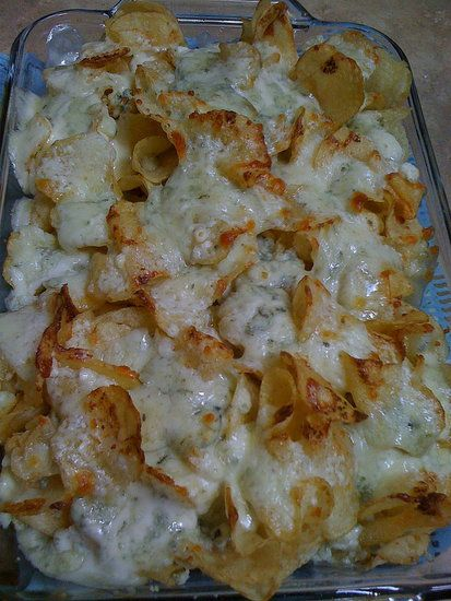 Buckhead Diner Blue Cheese Chips recipe - I hope it is good because Buckhead Diner is my favorite