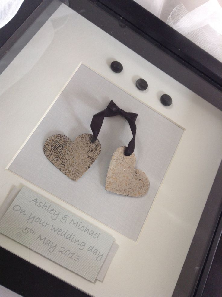 Personalised box frame 'Tied the knot Love by AliceandRoseathome, £20.00