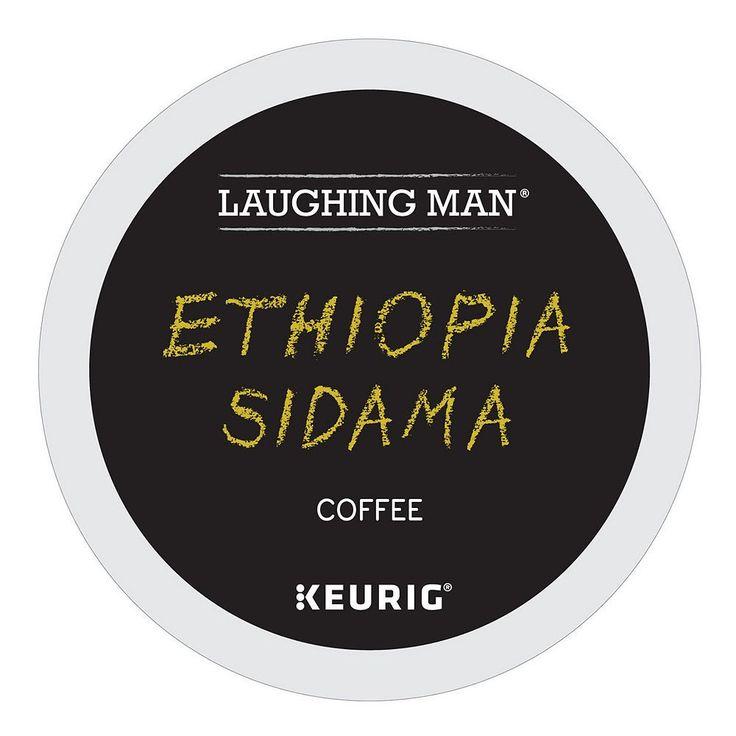 Laughing Man Coffee Keurig K-Cups, Ethiopia Sidama