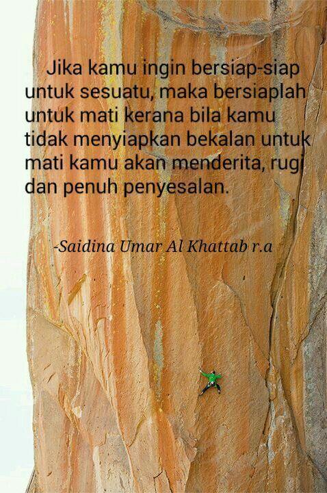 Hikmah Saidina Umar al khattab