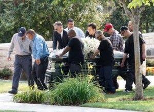 Patrick swayze's funeral