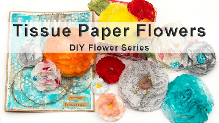 Tissue Paper Flower class by Anna-Karin Evaldsson from Layers of ink, on Skillshare. It's the first class in a series of DIY Flower making classes. Eight videos and lots of techniques, tips and ideas.