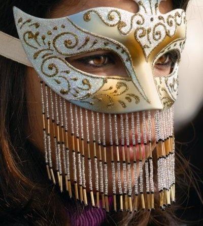 Venetian masks...