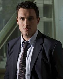 Owain Yeoman. Very cute in The Mentalist but even cuter when he speaks with his native Welsh accent.