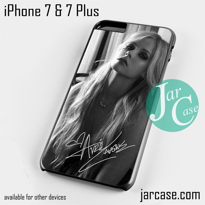 Beautiful Avril Lavigne Phone case for iPhone 7 and 7 Plus