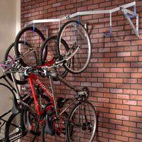 Fietsendrager, hangend (wandmontage) voor 6 fietsen bij Schäfer-Shop, de totaalinrichter voor kantoorbenodigdheden, kantoormeubilair, werkplaats- en magazijninrichting.