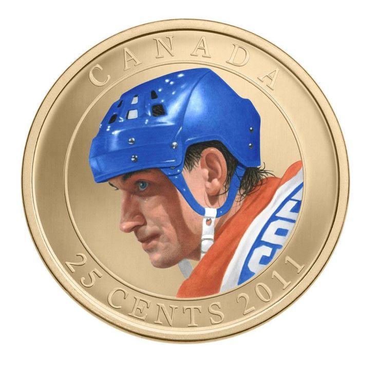 Canada 25 Cents Coloured Coin 2011 Wayne Gretzky