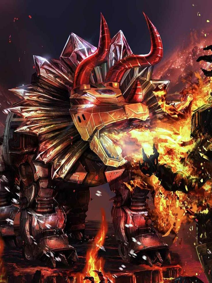 Dinobot Slag Artwork From Transformers Legends Game