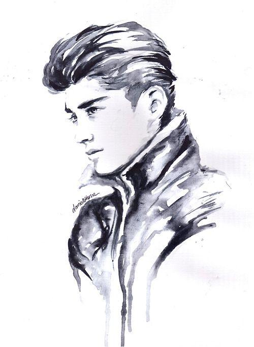 Zayn Malik Drawing Skills 28 best images ...