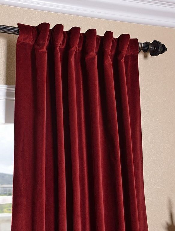 20 Gothic Velvet Curtain Ideas For Inspiring Your Home Decor