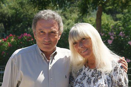 Michel Drucker en visite au refuge SPA Marseille
