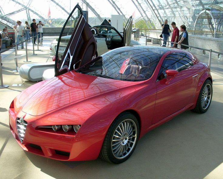 Alfa Romeo Brera Concept AMI - Alfa Romeo Brera and Spider - Wikipedia
