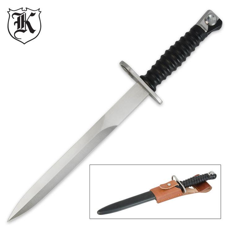 Швейцарский стиль PE-57 Штык с оболочкой   BUDK.com - ножи и мечи по самым низким ценам!
