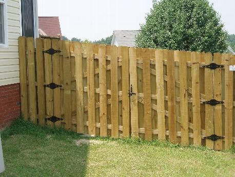6 Foot Shadow Box Fence