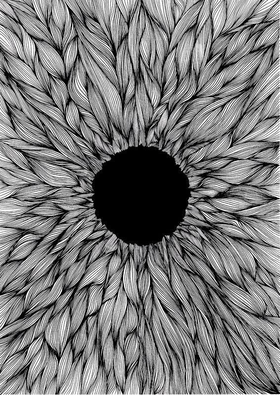 """Set the controls for the heart of the sun""      Illustration Edouard Correia     Haunted Visual Art"