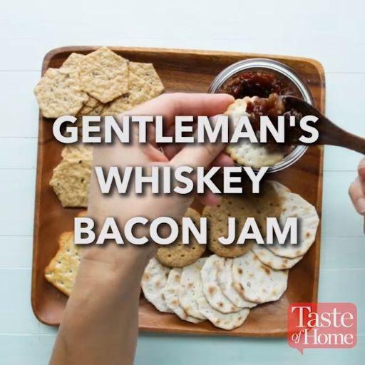 Gentleman's Whiskey Bacon Jam