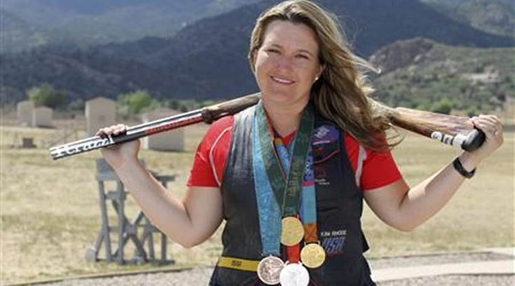 """""""My competition isn't resting!"""" –Kim Rhodes, five-time Olympic shooter"""