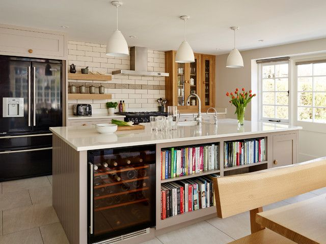 Lowes Wine Cooler Kitchen Transitional With Bespoke