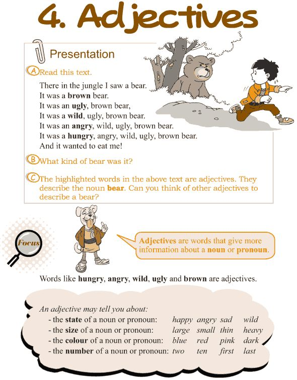 Grade 3 Grammar Lesson 4 Adjectives