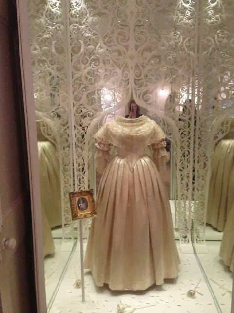 Queen Victoria's Wedding dress. The dress that started the trend of wearing white on your wedding day.