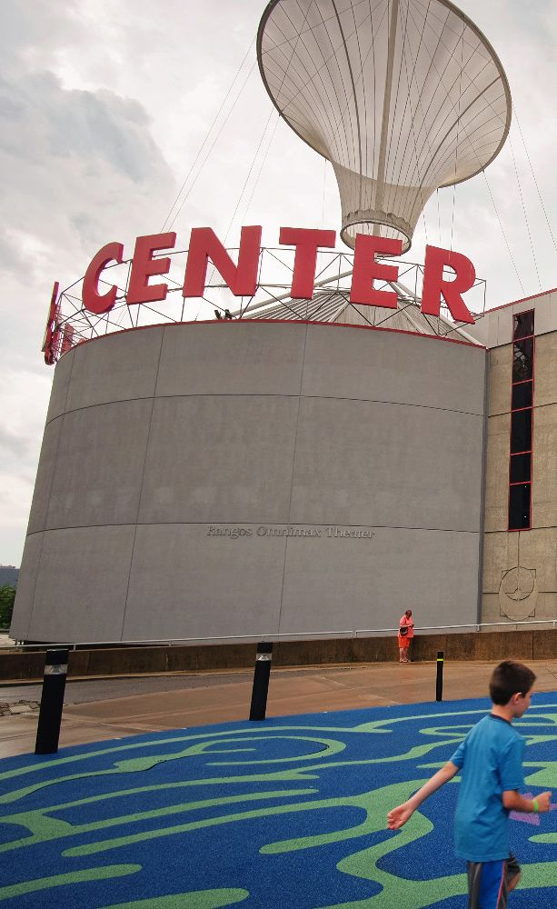 Carnegie Science Center is a great place for the kiddos on a rainy day, but also conveniently located off the North Shore Trail.