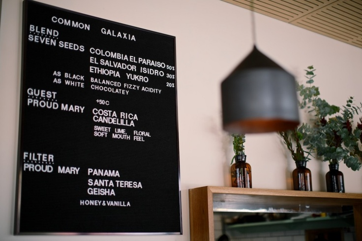 Common Galaxia_ #menuboard, #cafe, #signage