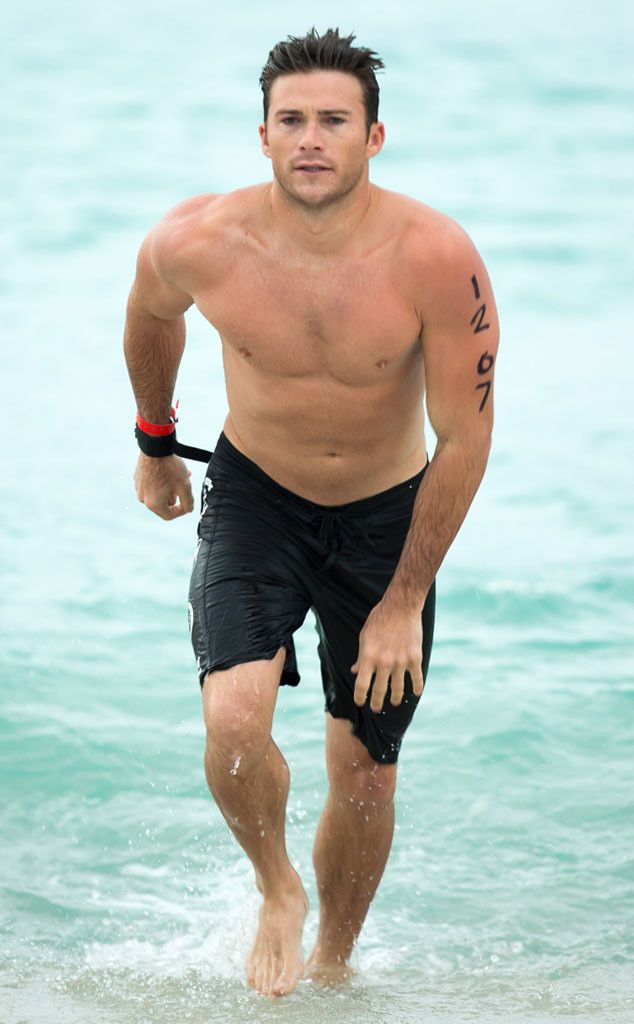 Scott Eastwood from The Big Picture: Today's Hot Pics  GreatScott! The hot actor competes in the Life Time Triathlon in Miami. He swam the first leg for St. Jude Children's Research Hospital.