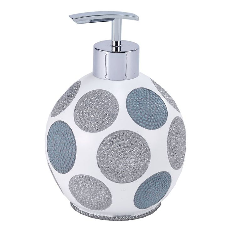 Dotted Circles Lotion and Soap Dispenser