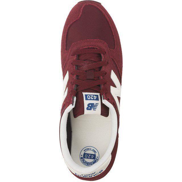 d8f7f54b886d1 New Balance Czerwone U420rdw Dark Red | Trampki damskie | New ...