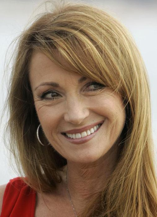 Jane Seymour - 59. I love to see wrinkles on women...... so refreshing to see, when so many choose plastic surgery.