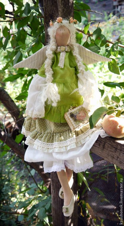Августа. Яблочная фея. - салатовый,зеленый,яблочный,яблочный спас,венок из роз