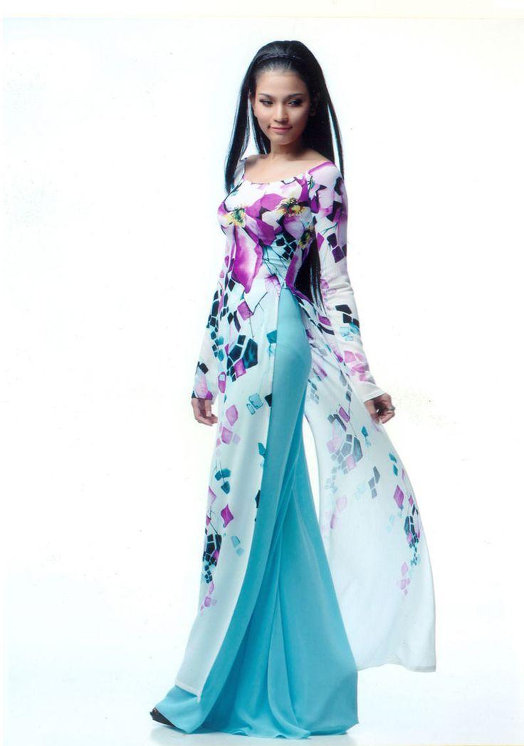 #Vietnamese #ao dai   Ao Dai vietnam   Dresses, Fashion ...