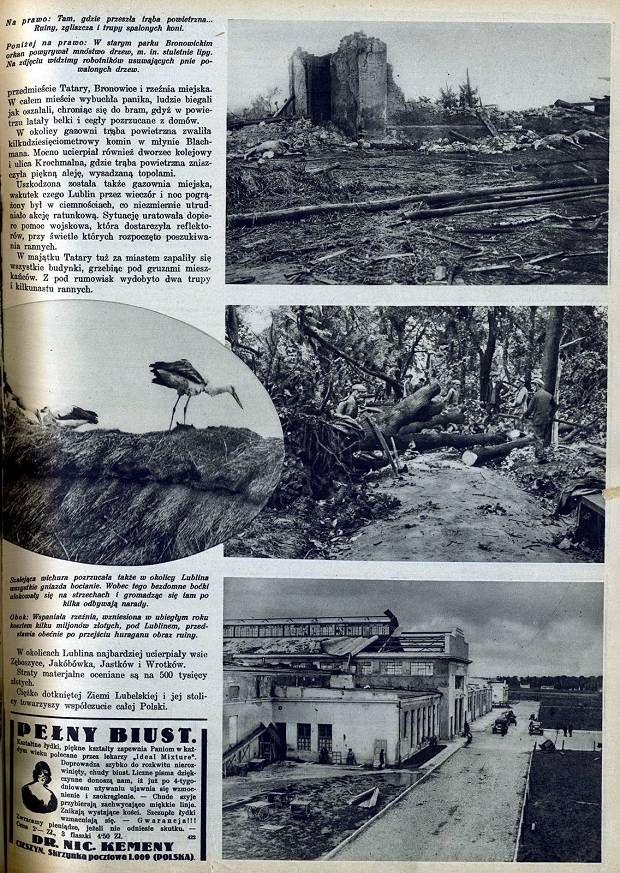 Po wichurze z 1931 roku- gazeta Światowid