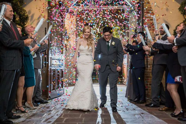 Houston natives Stephanie Dodd, 26, and Samuel Goetsch, 25, just might have taken the award for the most magical wedding ever. Photo: Steve Lee Photography