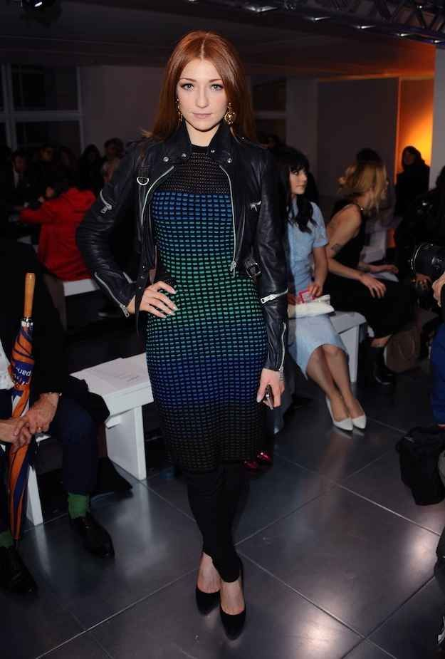 Nicola Roberts. | Check Out All Of The Celebrities Who Attended London Fashion Week