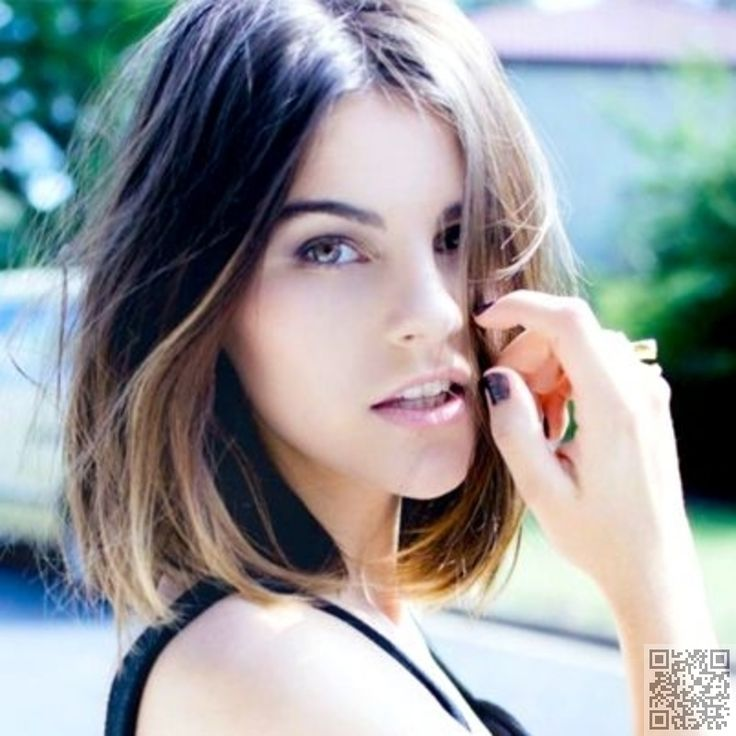 3. Shoulder #Length Cut - 50 Adorable #Short Haircuts ... → Hair #Shoulder