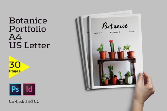Botanice Portfolio - Brochures