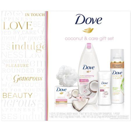 Walmart:14.88 Dove Walmart Coconut & Care Female Gift Set