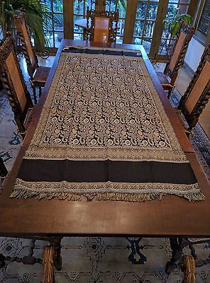 table runner or warming body scarf