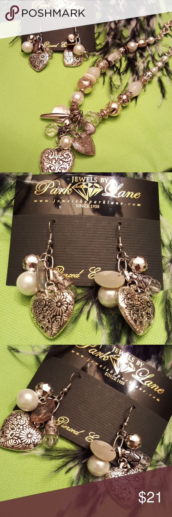 Park Lane Brite earrings Park Lane Brite earrings. Genuine seashells and faux pearls. NWT. Park Lane Jewelry Earrings