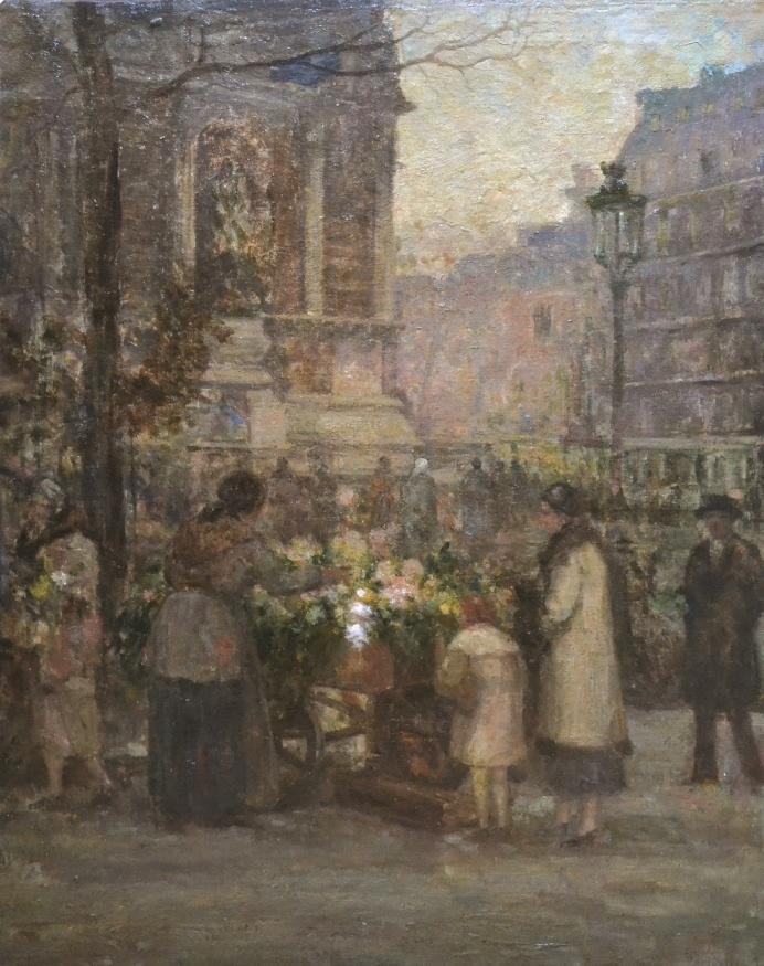 Jean Neylies - Piața de flori la Paris
