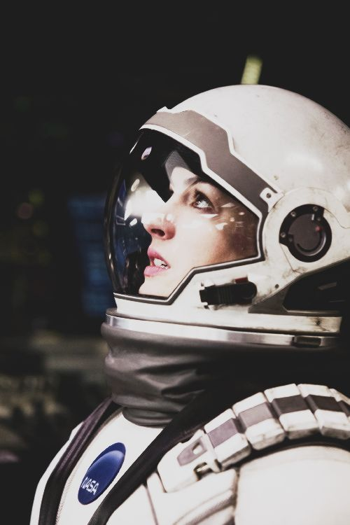 """Dr. Amelia Brand is courageous, passionate and intuitive...In the movie INTERSTELLAR, Brand (Anne Hathaway), scientist and interstellar astronaut, thinks """"outside the box"""" of  the hegemony of science and delivers one of the most poignant speeches about the power and relevance of love in all things. Amelia Brand is a hero for believing..."""