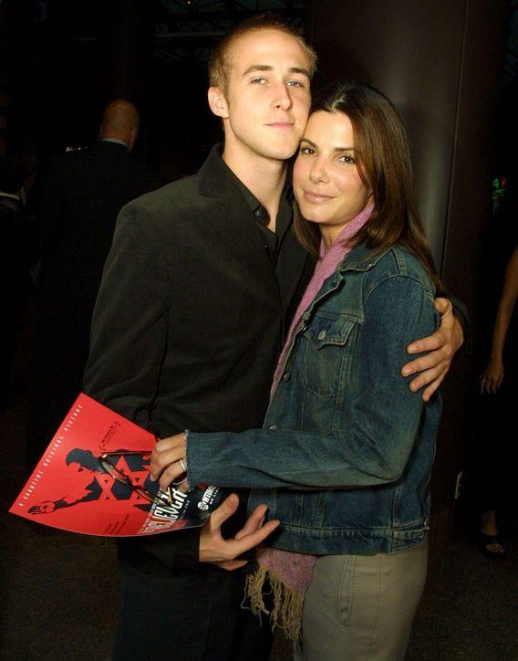 Ryan Gosling and Sandra Bullock, dated 2002 to 2003.