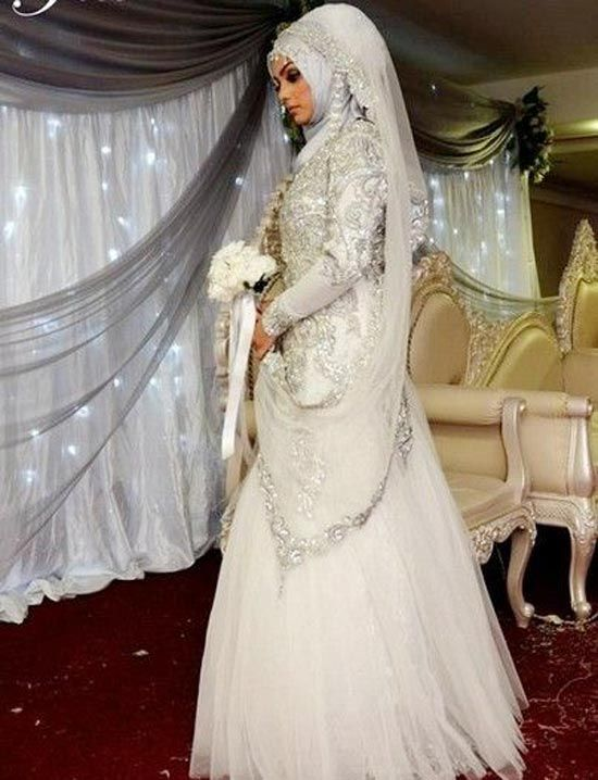 muslim wedding gowns with hijab - Google Search