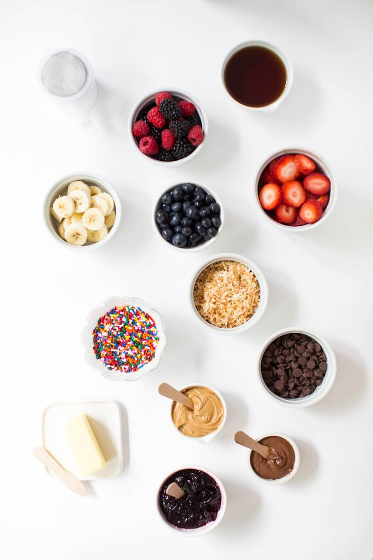 Build Your Own Waffle Bar... This would be a cute idea for a shower, breakfast for dinner or Sunday brunch! On iheartnaptime.com #bemorehere