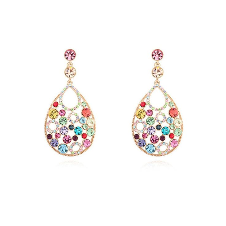 Austrian Crystal Drop Earrings - Love to be Continued